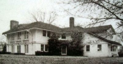 Backstrom House Photo on City of Firsts Marker image. Click for full size.
