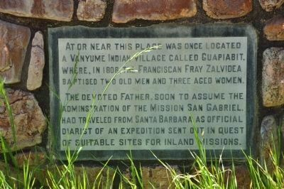 Las Flores Ranch Marker - Side B image. Click for full size.