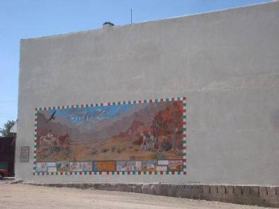 The Old Spanish Trail Mural image. Click for full size.