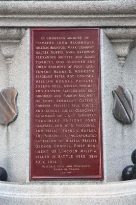 Soldier's Monument Marker image. Click for full size.