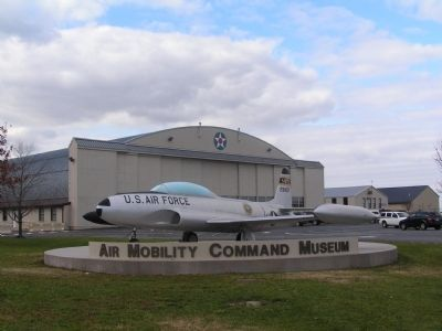 Entrance of Air Mobility Command Museum image. Click for full size.