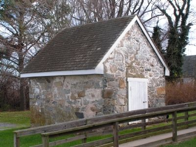 Stone Outbuilding behind main structure image. Click for full size.