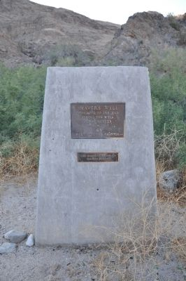 Shaver's Well Marker image. Click for full size.