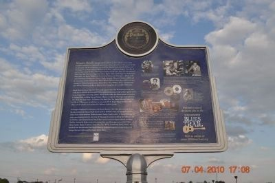 The Blues Trail: Mississippi to Alabama Marker, Side 2 image, Touch for more information