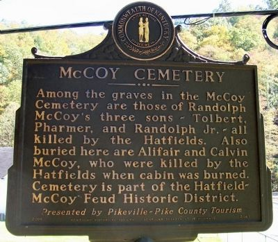 McCoy Cemetery Marker image. Click for full size.