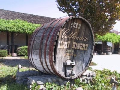 An Old Wine Cask image. Click for full size.
