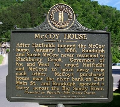 McCoy House Marker image. Click for full size.