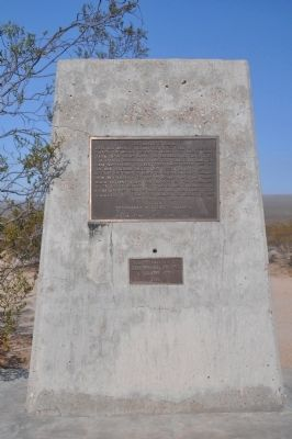 The Mojave Road Marker image. Click for full size.