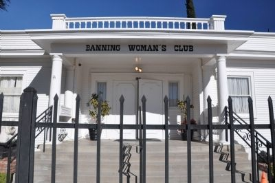 Banning Woman's Club Clubhouse image. Click for full size.