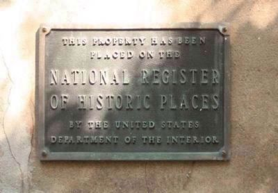 Judge Robert Pringle House National Register Plaque image. Click for full size.