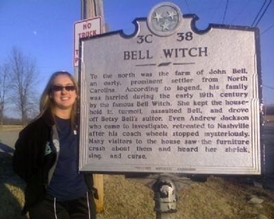 Bell Witch Marker image. Click for full size.