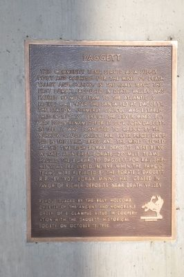 Daggett Marker image. Click for full size.
