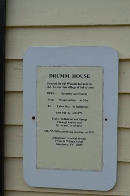 Additional Information on Drumm House image. Click for full size.