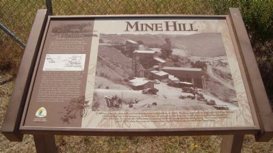 Mine Hill Marker image. Click for full size.