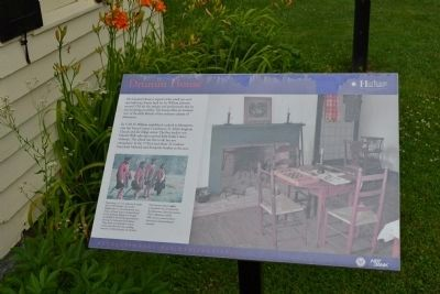 Drumm House Information Marker image. Click for full size.