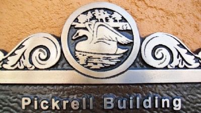 Pickrell Building Marker Detail image. Click for full size.
