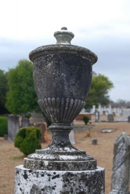 Ann Amelia Tombstone Urn image. Click for full size.