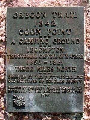 Coon Point Marker image. Click for full size.