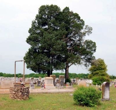 Long Cane Cemetery<br>Well Near Entrance image. Click for full size.