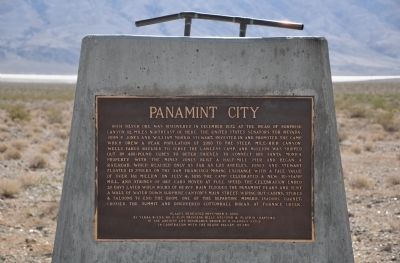 Panamint City Marker image. Click for full size.