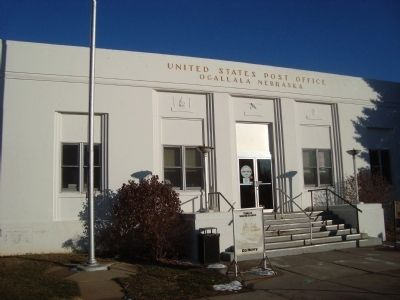 The Ogallala Post Office image. Click for full size.