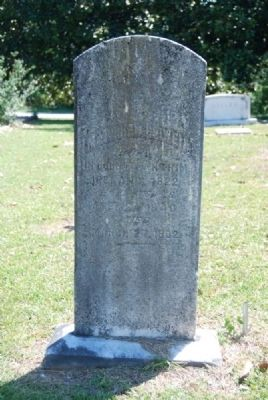 Matthew Bowen Tombstone image. Click for full size.