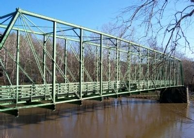 Historic Whipple Truss Bridge image. Click for full size.