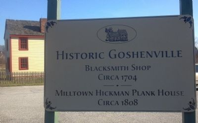 Goshenville Historic Area image. Click for full size.