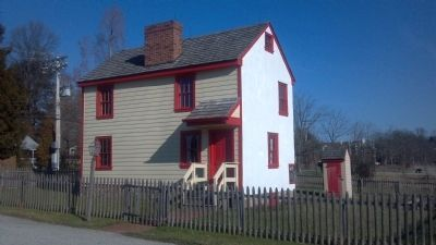 East Goshen's - Hickman/Plank House, circa 1808 image. Click for full size.