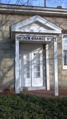 Goshen Grange Front Entry image. Click for full size.