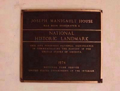 The Joseph Manigault House National Register of Historic Places: National Historic Landmark image. Click for full size.