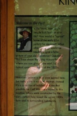 Welcome to Kings Mountain State Park Marker image. Click for full size.