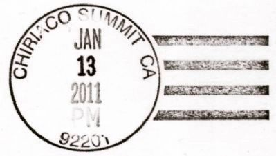 US Postal Cancellation image. Click for full size.