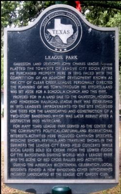 League Park Marker image. Click for full size.