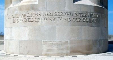 Liberty Memorial Marker image. Click for full size.