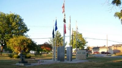 Smoot Peace Park and Veterans Memorial image. Click for full size.