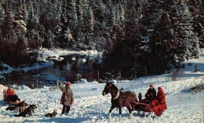 A One-Horse Open Sleigh image. Click for full size.