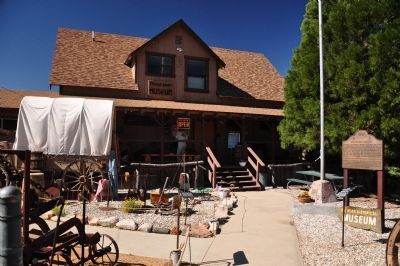 Big Bear Valley Historical Society Museum image. Click for full size.
