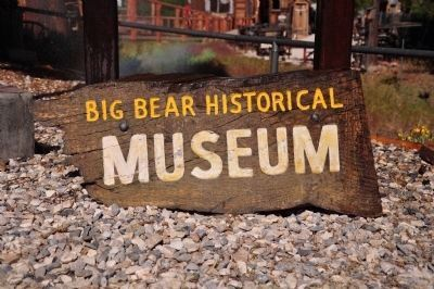 Big Bear Historical Museum image. Click for full size.
