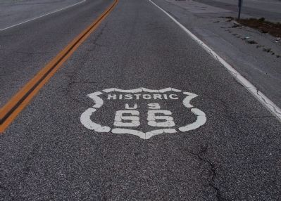 Historic Route 66 at Blue Cut image. Click for full size.