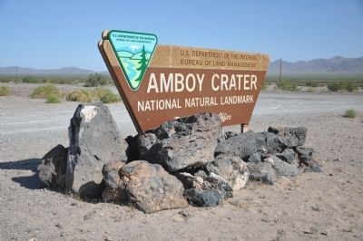 Amboy Crater image. Click for full size.