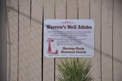 Warren's Well image. Click for full size.