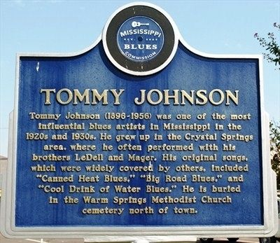 Tommy Johnson Marker image. Click for full size.