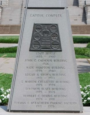 Capitol Complex Monument<br>South image. Click for full size.