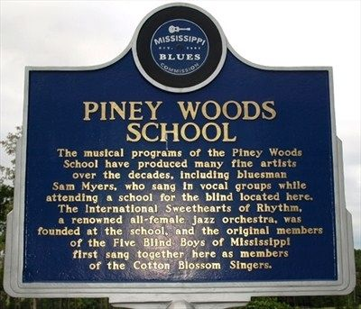 Piney Woods School Marker image. Click for full size.