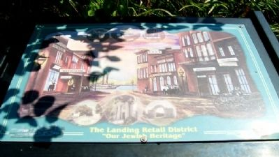 The Landing Retail District Marker image. Click for full size.