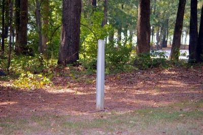 The Burnt Village Marker Post image. Click for full size.