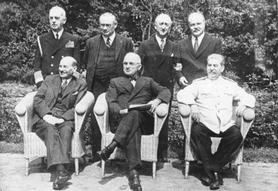 Potsdam Conference image. Click for full size.