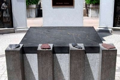 African-American History Monument<br>Center Display Detail image. Click for full size.
