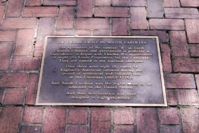 The Figure Eight in South Carolina Marker image. Click for full size.